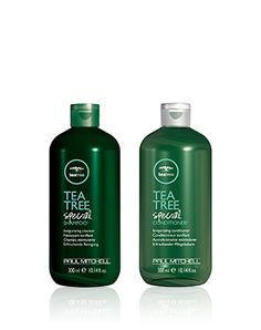 The Tea Tree Brand from Paul Mitchell - great for dry scalp in winter.