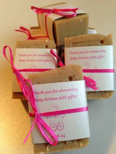 Simply Rustic Soap ~ Baby Shower Favors ~ February 2014