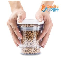 Adjustable Food Storage Jar #inspireuplift #AdjustableJar #AdjustableFoodStorageJar #AdjustsToTakeUpOnlyAsMuchSpaceAsNeeded #adjustable #AdjustableStorageContainer #AdjustableFoodStorage #AdjustableFoodJar #air #AirTight The Adjustable Food Storage Jar is the perfect container for storing a wide variety of foods as well as other objects. Featuring a modern design, combined with outstanding functionality, this adjustable storage container outperforms the usual containers, such as plastic bags…