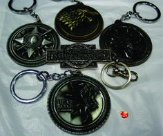 Llaveros de Juego de Tronos. se venden por separado