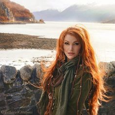 """By the gods. I need a vacation - soon! 🌾 Adventures, fresh air, dramatic scenery, new impulses and artistic inspiration. 🍂 *dreamy sigh* Who's coming…"" Beautiful Red Hair, Beautiful Redhead, I Love Redheads, Long Red Hair, Scarlett, Redhead Girl, Strawberry Blonde, Ginger Hair, Shades Of Red"