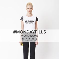 With #SpaceStyleConcept you will never be speechless!  #MondayPills