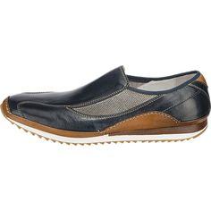 Die Galizio Torresi Slipper zeigen sich in einem sportiven Schnitt. Die vorne hochgezogene Profil-Laufsohle ist sehr flexibel und wirkt rutschhemmend.<br /> <br /> - Verschluss: Schlupf<br /> - verstärkter Fersenbereich<br /> - Decksohle aus echtem Leder<br /> - Schuh-Weite: F<br /> <br /> Obermaterial: Leder<br /> Futter: Leder<br /> Decksohle: Leder <br /> Laufsohle: Sonstiges Mater...