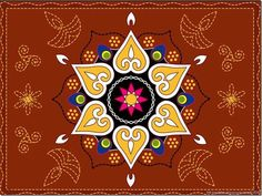Today I am sharing with you a Rangoli design for diwal, Rangoli Design Patterns and Diwali Rangoli Photos. Pictures of Rangoli with Flower, rangoli design for diwali Easy Rangoli Patterns, Colorful Rangoli Designs, Rangoli Ideas, Rangoli Designs Diwali, Diwali Rangoli, Beautiful Rangoli Designs, Rangoli Photos, Diwali Pictures, Diwali Images