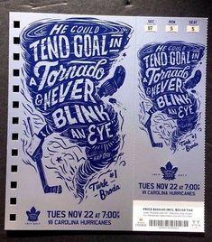 2016-17-Toronto-Maple-Leafs-vs-Carolina-Hurricanes-Turk-Broda-Featured-Ticket
