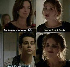 Image shared by Dylan O'brien. Find images and videos about teen wolf, dylan o'brien and ❤ on We Heart It - the app to get lost in what you love. Dylan O'brien, Teen Wolf Dylan, Teen Wolf Cast, Teen Wolf Quotes, Teen Wolf Funny, Teen Wolf Memes, Teen Wolf Stydia, Teen Wolf Ships, Stiles And Lydia