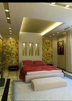 False Ceiling Design for Master Bedroom Elegant Pin by Distant Sankhla On My Saves House Ceiling Design, Ceiling Design Living Room, Bedroom False Ceiling Design, False Ceiling Living Room, Luxury Bedroom Design, Bedroom Furniture Design, Master Bedroom Design, Interior Design, Bedroom Designs