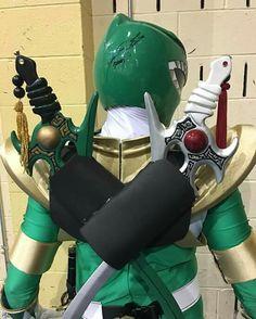 Probably one of the best Green Ranger Cosplays I've ever seen. Pinned from: White Ranger #SonGokuKakarot