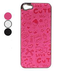 Caso Padrão Cute Girl duro para o iPhone 5 (cores sortidas) – BRL R$ 12,89