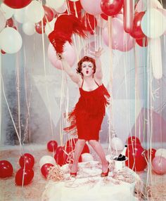 Marilyn Monroe as Clara Bow by Richard Avedon 1958
