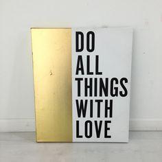 Gold Dipped Wall Art