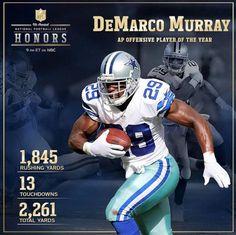 Congrats DeMarco Murray!