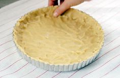 Gluten Free Tart Crust: Almond flour, sea salt, coconut oil, egg