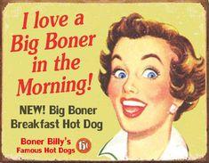 Boner Billy's Vintage Signage
