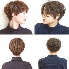 Popular Haircuts For Short Hair Men Asian Short Hair, Girl Short Hair, Short Hair Cuts, Tomboy Hairstyles, Pixie Hairstyles, Cool Hairstyles, Shot Hair Styles, Curly Hair Styles, Androgynous Haircut