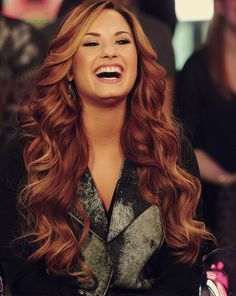 Caramel and Red Highlights on Dark Brown Hair. I'm dying over this hair. love it!: