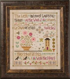 Lizzie*Kate Blog: Things Unseen Mystery Sampler REVEALED!