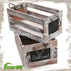 Oude houten krat, opslag kist, houten wijnfles dozen