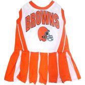 Cleveland Browns NFL Licensed Pet Dog Cheerleader Dress Outfit