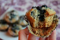 Oatmeal Blueberry Flax Muffins3