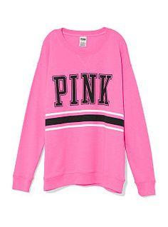 #VictoriasSecret crew sweatshirt  hurry, fall!
