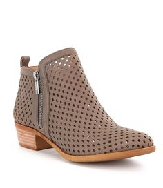 Shop for Lucky Brand Basel 3 Side Zip Perforated Leather Booties at Dillards.com. Visit Dillards.com to find clothing, accessories, shoes, cosmetics & more. The Style of Your Life.