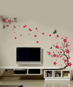 Blossom Butterfly Wall Decal Therapy Room Idea