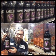 mybeerbuzz.com - Bringing Good Beers & Good People Together...: New Holland Bottles Dragon's Milk Raspberry