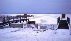 DNR announces winter Lake Michigan access points in Delta County