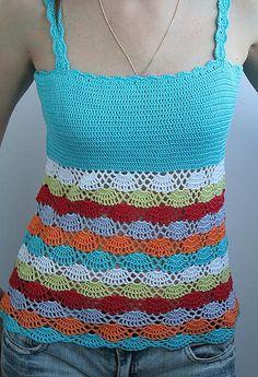 crochet top......