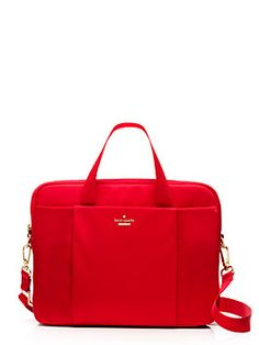 Kate Spade Laptop Bag, Kate Spade Bag, Commuter Bag, Laptop Bag For Women, Crossbody Bag, Tote Bag, Laptop Case, Travel Accessories, Cowhide Leather