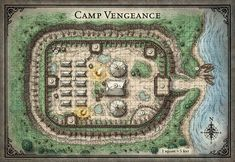 Tomb of Annihilation; Camp Vengeance - 5E (Digital DM & Player Versions) $2