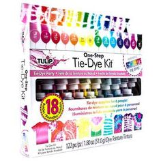 Hobby Lobby arts and crafts stores offer the best in project, party and home supplies. Visit us in person or online for a wide selection of products! Diy Tie Dye Kit, Tie Dye Party, Tie Dye Crafts, One Step, Unicorn Makeup, Craft Projects For Kids, Diy Projects, Tie Dye Shirts, Party Kit