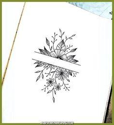 Laura Martinez - Home Decor drawings Laura Martinez Laura Martinez Bullet Journal Aesthetic, Bullet Journal Ideas Pages, Bullet Journal Inspiration, Silhouette Design, Cute Tattoos, Small Tattoos, Tatoos, Pretty Tattoos, Flower Tattoos