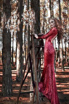 Moments in Vintage Styled Photo Shoot for Begitta ~ Designer Fantasy Couture - Blog - RENT MY DUST Vintage Rentals