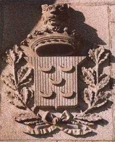 Pedra de armas dos Pinto Medieval, Portuguese, Viscount, Weapons Guns, Rook, Brazil, Portuguese Language, Mid Century