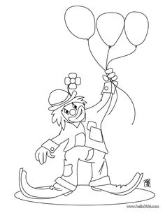 Clowns Coloring Books Two « Animal Coloring Pages for Kids ...