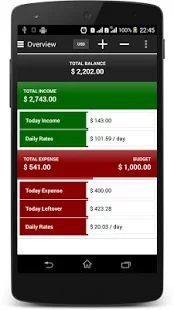 Daily Money Manager– miniatura da captura de ecrã