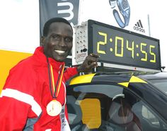 Paul Tergat... One of the best runners that I admire