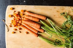 This is a useful article since in the cleaning out of the fridge ritual this weekend, I too discovered carrots. Cook up some for lunches this week. carrots by Photosfood52, via Flickr