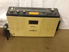 Macdonald Instruments Portable Stereo Radio