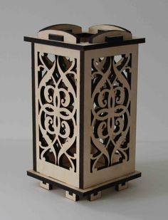 Laser Cut Luminaries - Victorian design