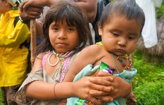 Kogi children in #Colombia #Indigenous