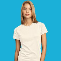 District-Juniors 100% Organic Cotton Perfect Weight Tee-DT200ORG
