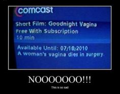 WTF is a show called goodnight vagina?