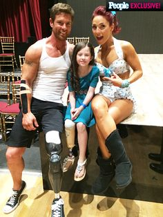 Dancing with the Stars: Noah Galloway Invites Alissa Sizemore, Amputee Dancer