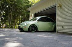 volkswagenb407's Cyber Green New Beetle