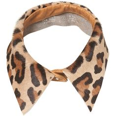 TOPSHOP Leopard Print Collar found on Polyvore