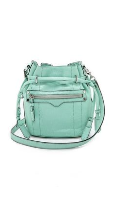 We're seeing bucket bags everywhere! This one from Rebecca Minkoff is fabulous.