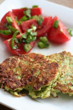 Zucchini fritters! I can't wait to make these with some of the zucchini from the garden.